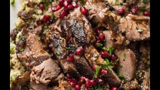 Slow Cooked Lamb Shawarma