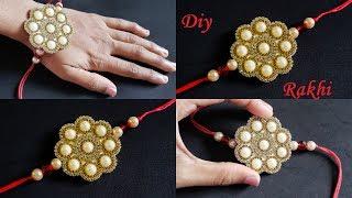 DIY    Rakhi Making At Home    Rakhi Designs    Handmade Rakhi #4