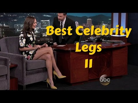 Best Celebrity Legs 11 - Featuring Gal Gadot, Keri Russell, Anna Kendrick  and Gillian Anderson - YouTube
