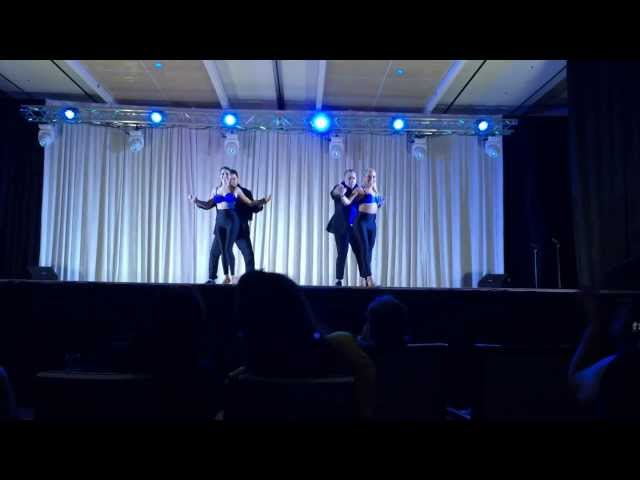 Propuesta Indecente performance piece at The 2014 Houston Salsa Congress Travel Video