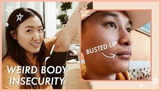 MY WEIRD BODY INSECURITY + WAH FAINTED! | WahlieTV EP643