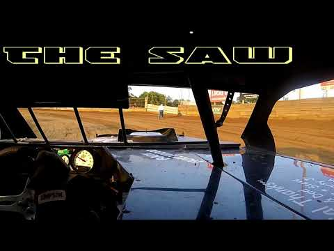 In Car Cam of The Saw at Belle-Clair Speedway 8-3-18