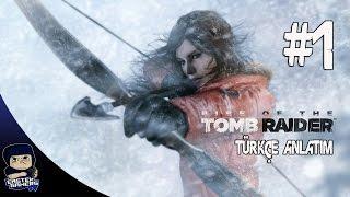 Rise Of The Tomb Raider Türkçe Bölüm 1 : LARA CROFT GERİ DÖNDÜ ! [Xbox One ]