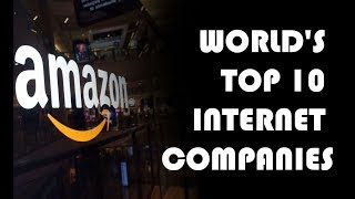 - Top 10 most successful Internet Companies