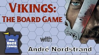 Vikings: The Board Game Review – with André Nordstrand