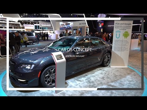 Android 7.0 in your car: Google & Chrysler built a Nougat OS for vehicles