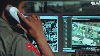 شاهد غرفة التحكم بأمن دبي