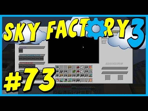 Data Play's - Sky Factory 3 - #73 - Messing with Mods!