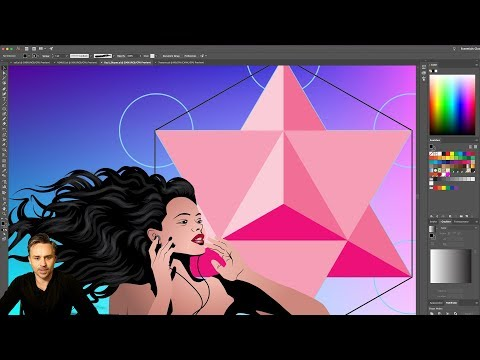 Getting Started in Illustrator: Using Colors and Gradients