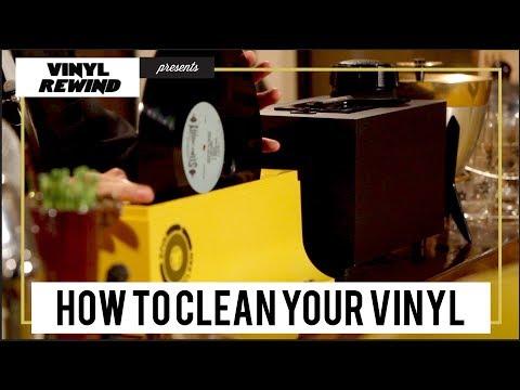 How to Clean Vinyl - The Vinyl Geek Method