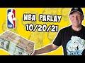 Free NBA Parlay For Today 10/20/21 NBA Pick & Prediction NBA Betting