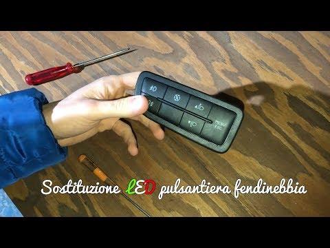 Sostituzione LED pulsantiera fendinebbia su Alfa Romeo MiTo