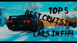 Top 5 Cruising Cars in Forza horizon 4