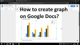 How to create graph on Google Docs?
