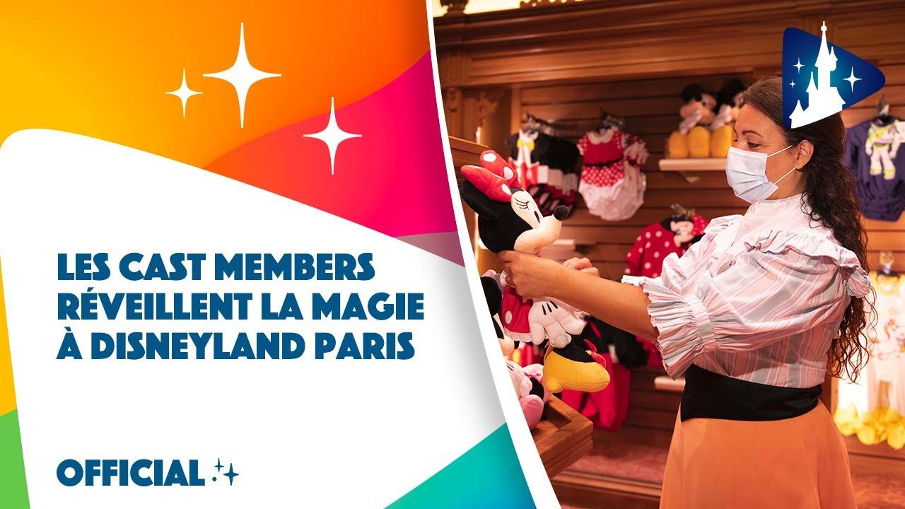 Les Cast Members réveillent la magie à Disneyland Paris ✨