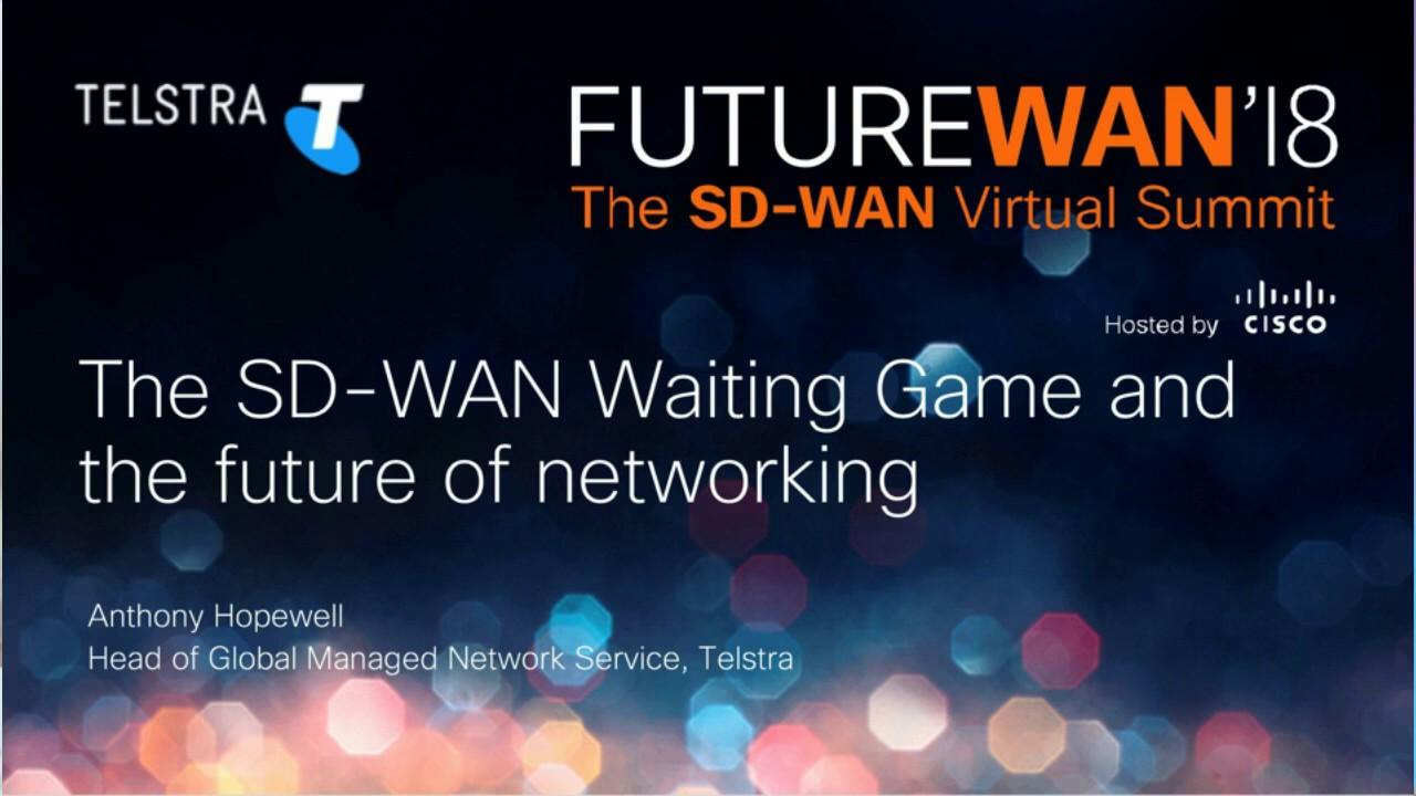 Sd Wan The Future Of Networking Webinar Recording Youtube