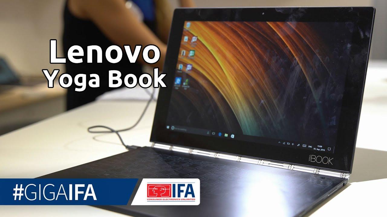 Lenovo Yoga Book Im Hands On: 2 In 1 Notebook Mit Touchscreen Tastatur    IFA 2016   GIGA.DE Nice Look
