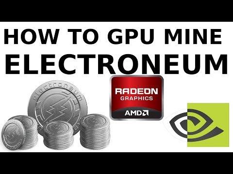 How to GPU Mine Electroneum with AMD & Nvidia GPUs Windows Cryptonight Cryptonote Monero