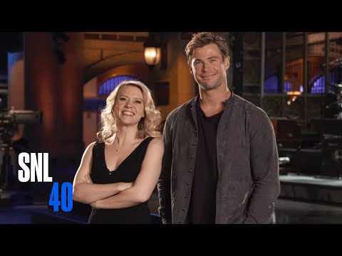 Kate McKinnon and SNL Host Chris Hemsworth Attempt a Dirty Dancing Lift video