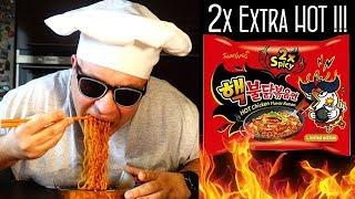 Śmiertelnie Pikantny 2x Hot Chicken Ramen