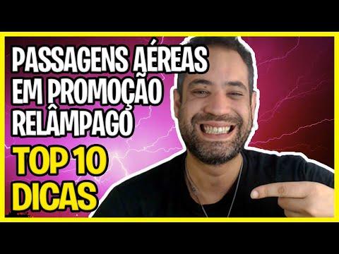 Passagens Aéreas em Promocao Relâmpago! - TOP 10 Dicas!