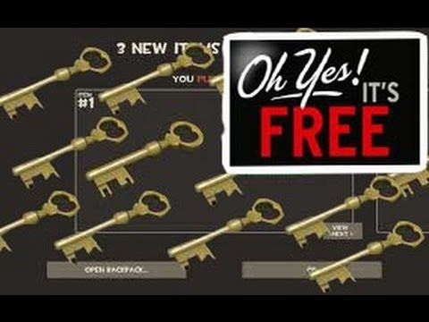 tf2 how to get free keys