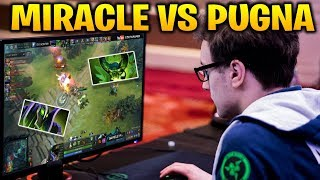 Miracle Rubick Arcana vs Pugna - Solo Ranked Match