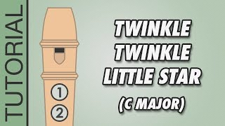 Video How to play Twinkle Twinkle Little Star (C Major) on the Recorder - Very Easy Tutorial download MP3, 3GP, MP4, WEBM, AVI, FLV Oktober 2018