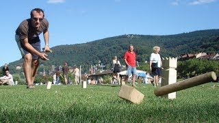 Best Outdoor Yard Game KUBB - Kubb Devils