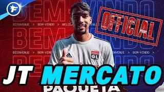OFFICIEL : l'OL s'offre le gros coup Lucas Paquetá | Journal du Mercato
