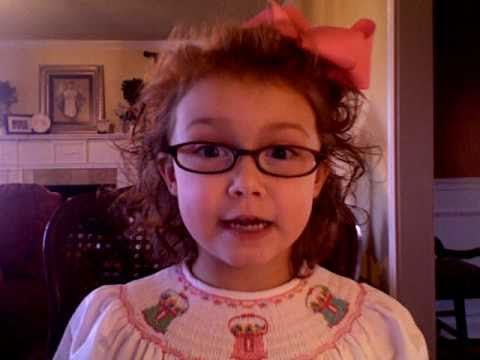 """Mary Margaret sings Shirley Temple's """"Animal Crackers in my Soup"""""""