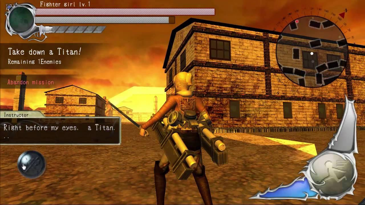 attack on titan games 3d