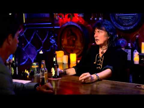 Ritchie Blackmore discussing his relationship with Ian Gillan when working together in Deep Purple