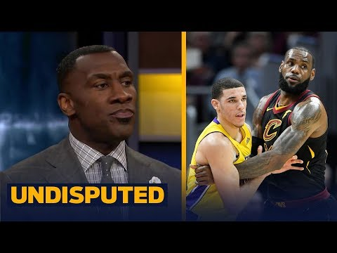 Skip and Shannon on LeBron's postgame chat with Lonzo after the Cavs beat the Lakers | UNDISPUTED
