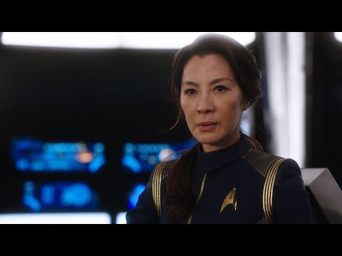 Michelle Yeoh Takes The Captain's Chair On Star Trek: Discovery