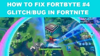 How to fix FORTBYTE #4 Glitch/Bug in Fortnite - Where are the rings??? With General Freak