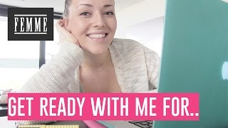 Get ready with me for work at home - FEMME