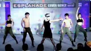 140518 colors of life cover lady gaga - poker face @esplanade dance contest (audition)