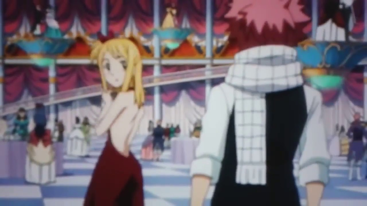 Fairy Tail Ultimate Dance of Magic - Natsu Dragneel ... |Lucy And Natsu Dance