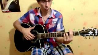 Песня (перебор) из сериала Элен и Ребята (основная тема) Helene et les garcons chanson (guitar)