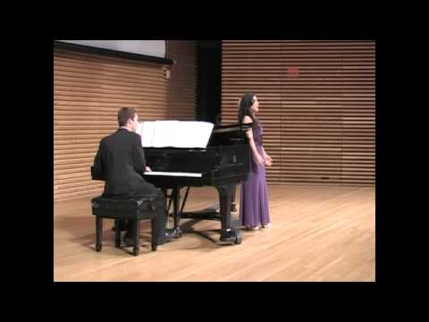 The Silver Swan by Ned Rorem. Recorded at Elaina's Masters Recital in April 2014 at the University of Michigan.