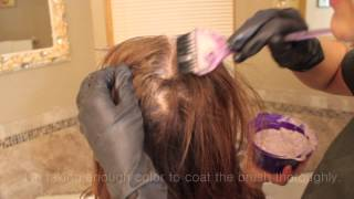 How to: Dye Hair at home LIKE a professional!
