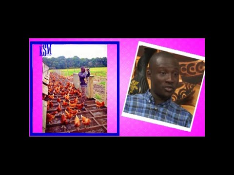 KSM Show- David Asiamah, a young Ghanaian farmer/entrepreneur on KSM Show