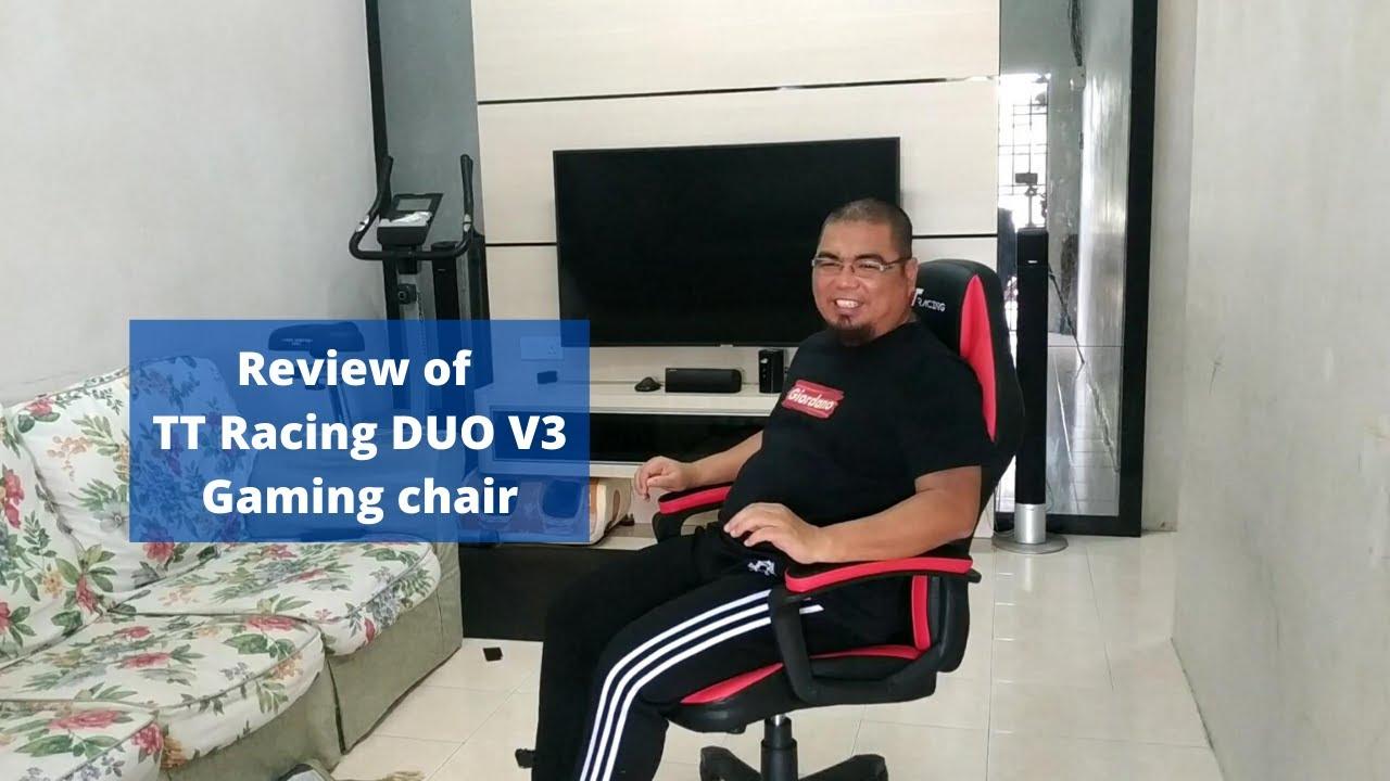 TT Racing DUO V3 Gaming Chair Review