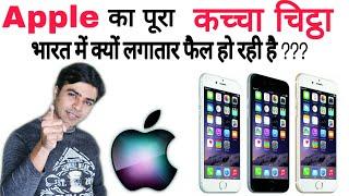 Apple failed in India, Why ???  Apple भारत में लगातार फेल क्यों हो रही है ?