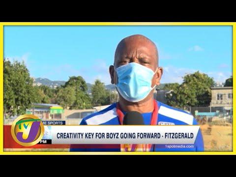 Creativity key for Boyz Going Forward - Fitzgerald - Oct 12 2021