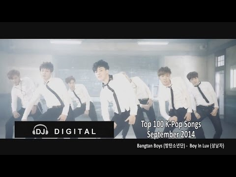 Top 100 K-Pop Songs For September 2014 (Month End Chart)