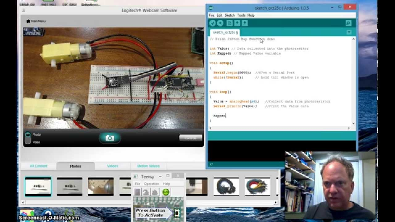 18 Demo of Arduino Map function   YouTube
