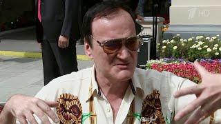 В Москву со своим новым фильмом прибыл знаменитый голливудский режиссер Квентин Тарантино.