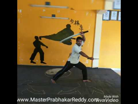 Katana Training Indian Best Martial arts Weapons Master Prabhakar Reddy  Nellorre Samurai Sword